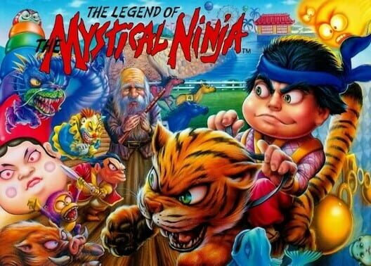 The Legend of the Mystical Ninja image