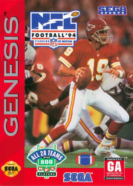 NFL Football '94 Starring Joe Montana image
