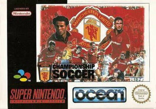 Manchester United Championship Soccer Display Picture