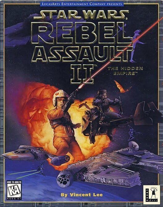 Star Wars: Rebel Assault II - The Hidden Empire image