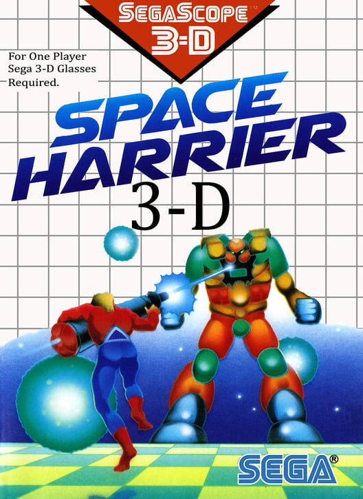 Space Harrier 3-D image