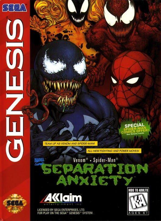 Spider-Man & Venom: Separation Anxiety image