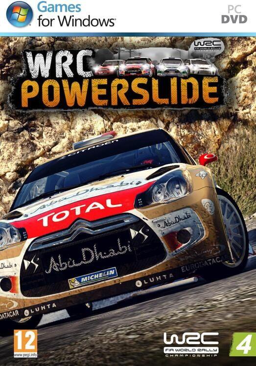 WRC Powerslide pc dvd-ის სურათის შედეგი