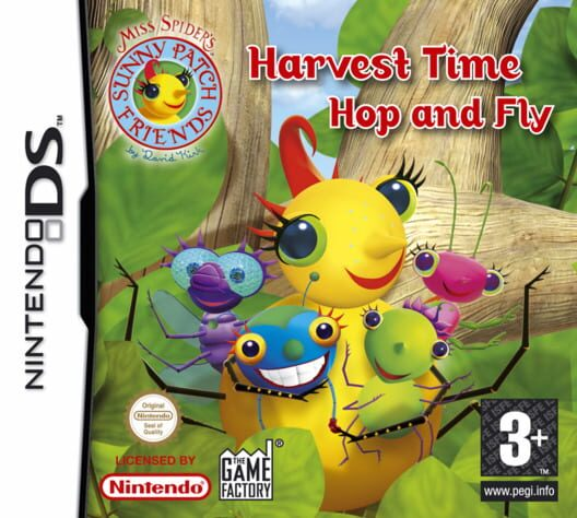 Miss Spider - Harvest Time Hop and Fly Display Picture