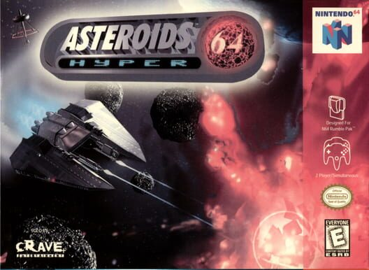 Asteroids Hyper 64 Display Picture