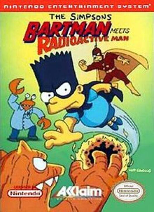 The Simpsons: Bartman Meets Radioactive Man image