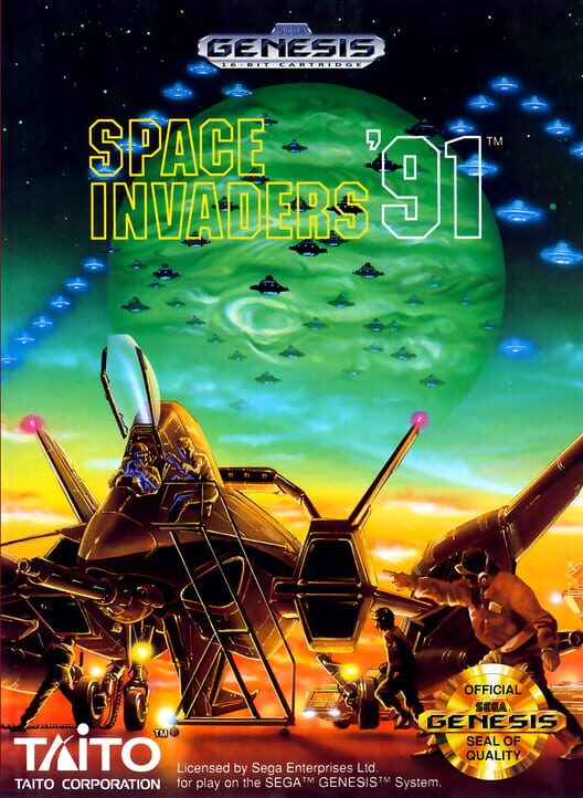 Space Invaders '91 image