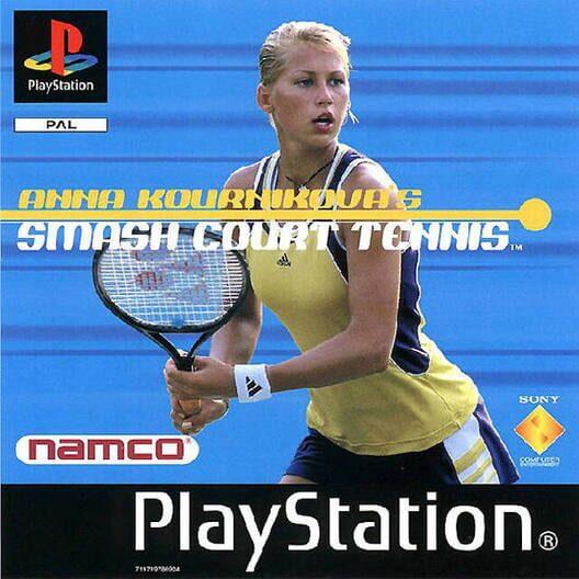 Anna Kournikova's Smash Court Tennis image