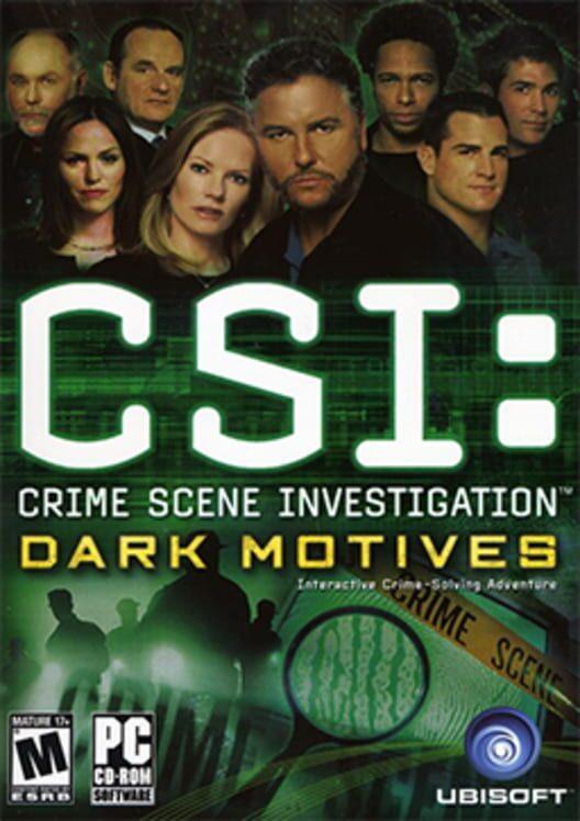 CSI: Dark Motives Display Picture
