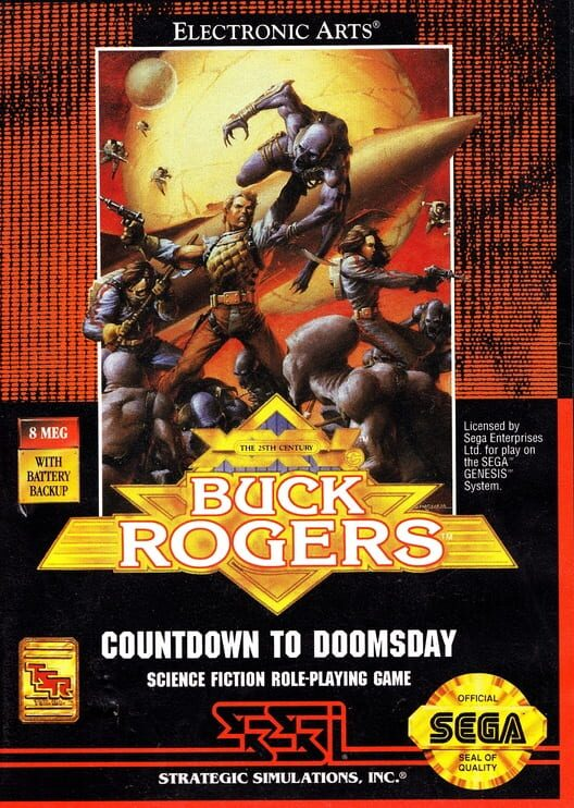 Buck Rogers: Countdown to Doomsday Display Picture