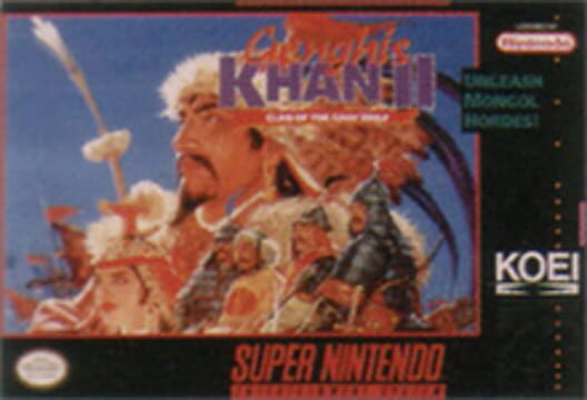 Genghis Khan II: Clan of the Gray Wolf Display Picture
