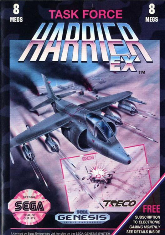 Task Force Harrier EX Display Picture