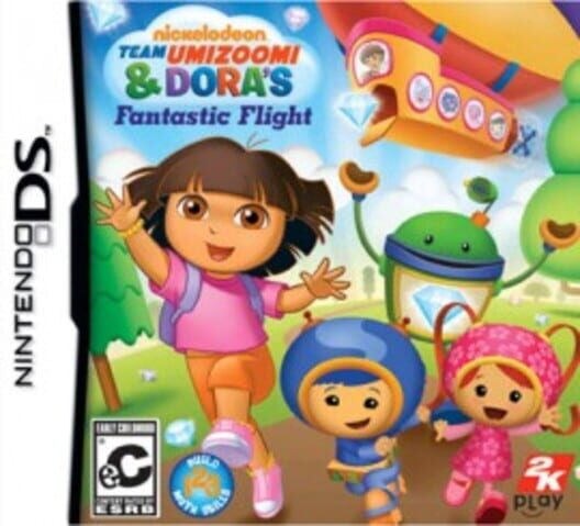 Team Umizoomi & Dora's Fantastic Flight Display Picture