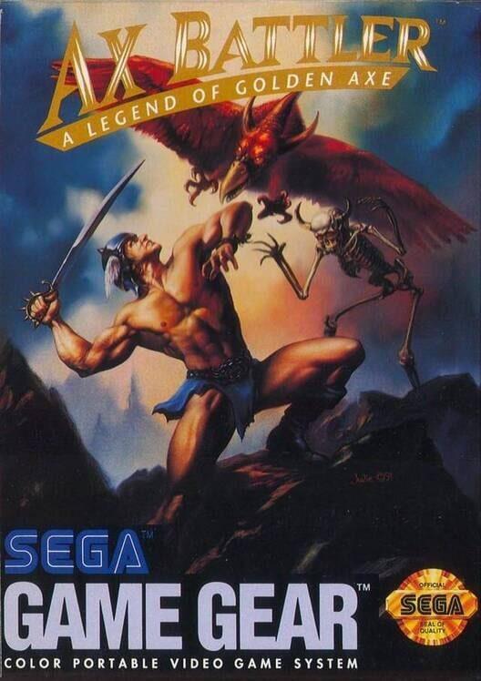 Ax Battler: A Legend of Golden Axe image