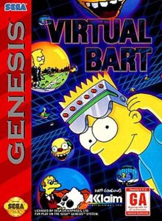 Virtual Bart Display Picture