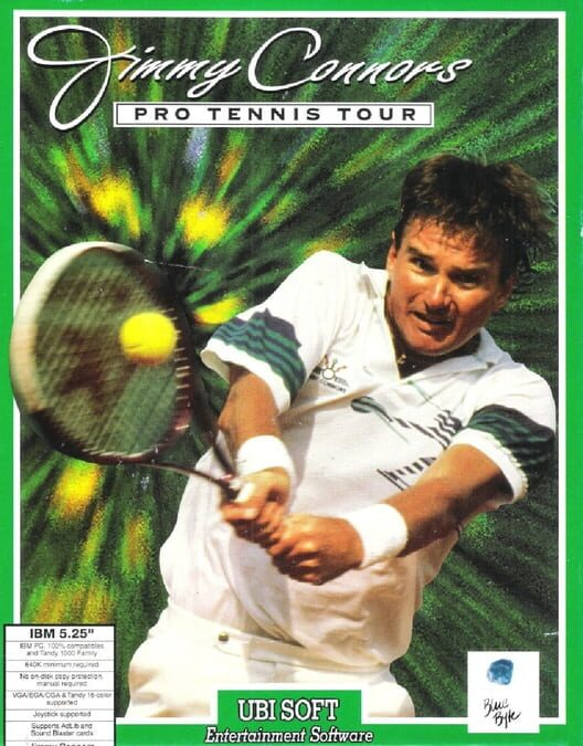 Jimmy Connors Pro Tennis Tour Display Picture