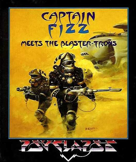 Captain Fizz Meets the Blaster-Trons Display Picture
