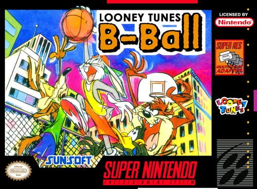 Looney Tunes B-Ball Display Picture