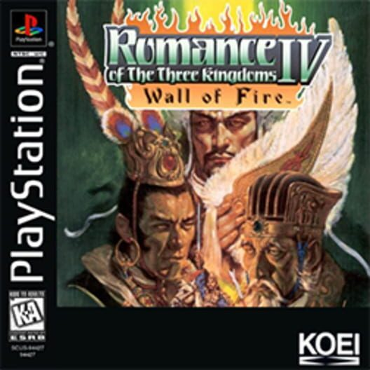 Romance of the Three Kingdoms IV: Wall of Fire Display Picture