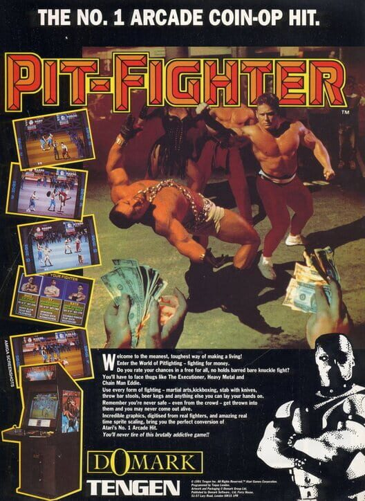 Pit Fighter Boxart