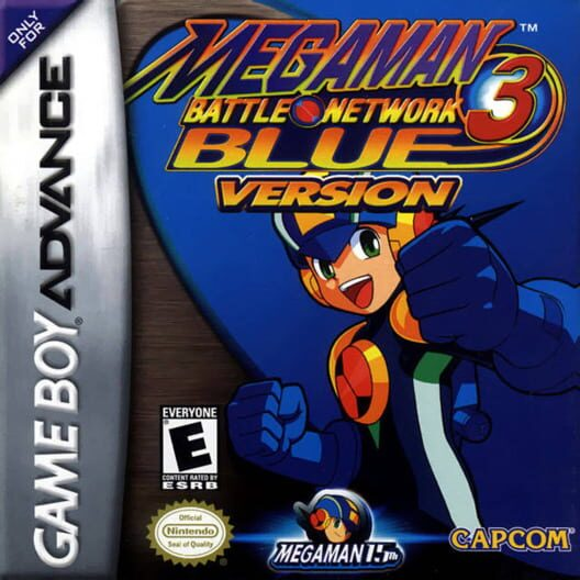 Mega Man Battle Network 3 Blue & White image