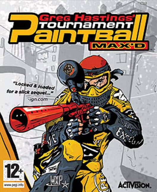 Greg Hastings' Tournament Paintball Max'd Display Picture