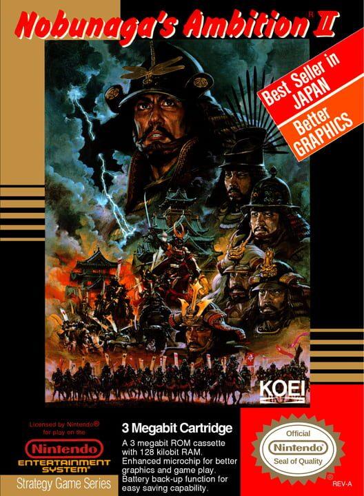 Nobunaga's Ambition II image