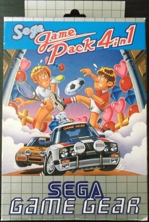Sega Game Pack 4 in 1 Display Picture