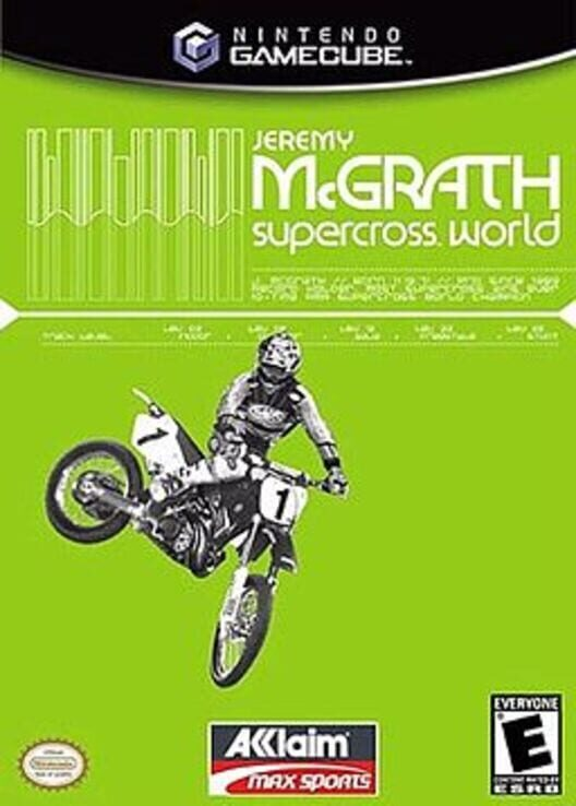 Jeremy McGrath Supercross World image