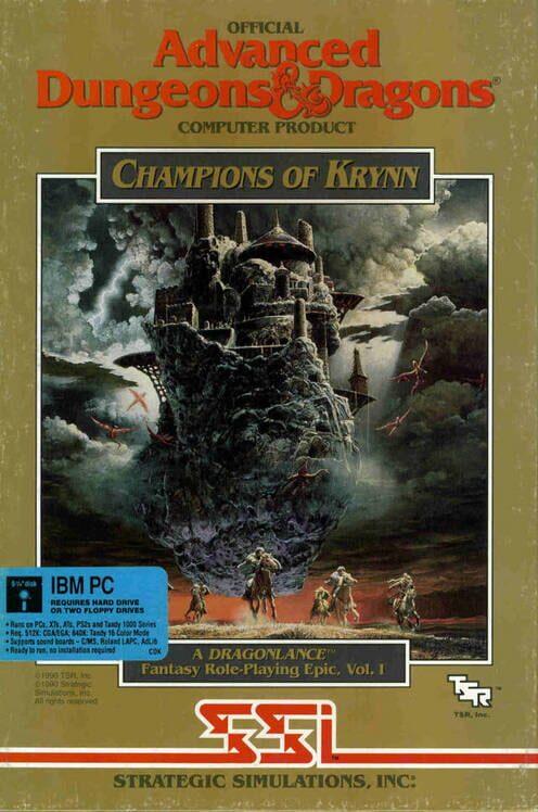 Champions of Krynn image