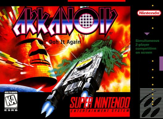 Arkanoid: Doh It Again Display Picture