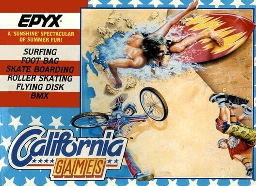 California Games Display Picture