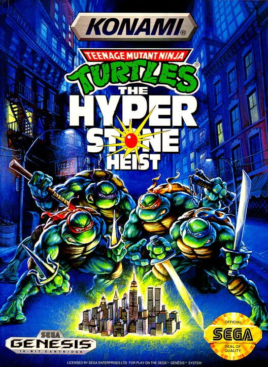 Teenage Mutant Ninja Turtles: The Hyperstone Heist Display Picture