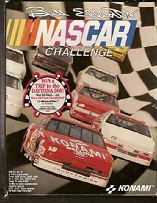 Bill Elliott's NASCAR Challenge Display Picture