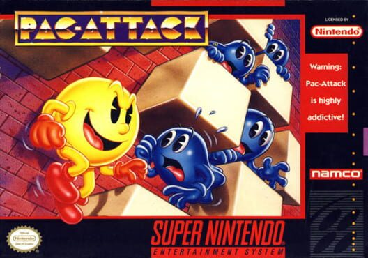 Pac-Attack Display Picture