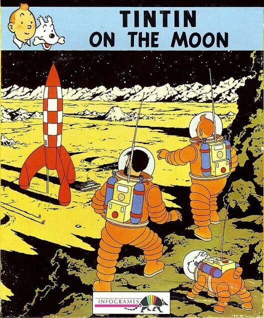 Tintin on the Moon image