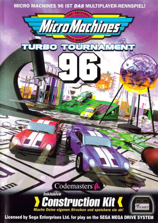 Micro Machines: Turbo Tournament 96 Display Picture
