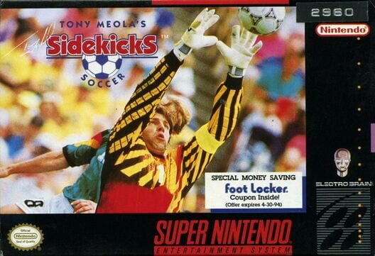 Tony Meola's Sidekicks Soccer Display Picture