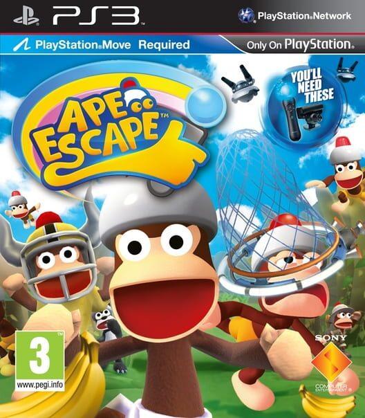 PlayStation Move Ape Escape image