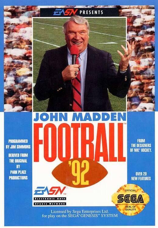 John Madden Football '92 image