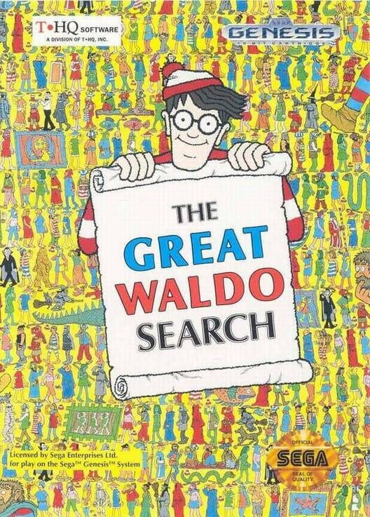 The Great Waldo Search Display Picture