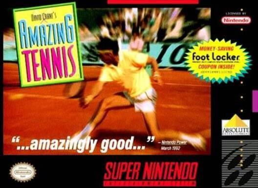 David Crane's Amazing Tennis Display Picture