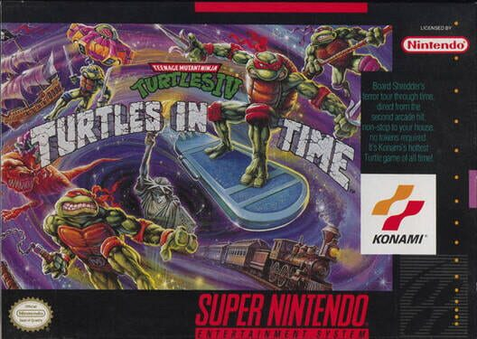 Teenage Mutant Ninja Turtles: Turtles in Time image