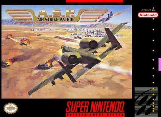 A.S.P.: Air Strike Patrol Display Picture