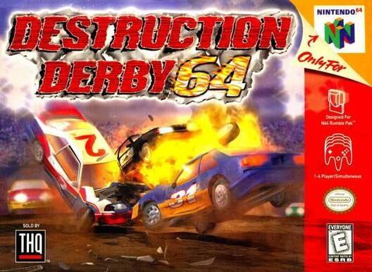 Destruction Derby 64 image