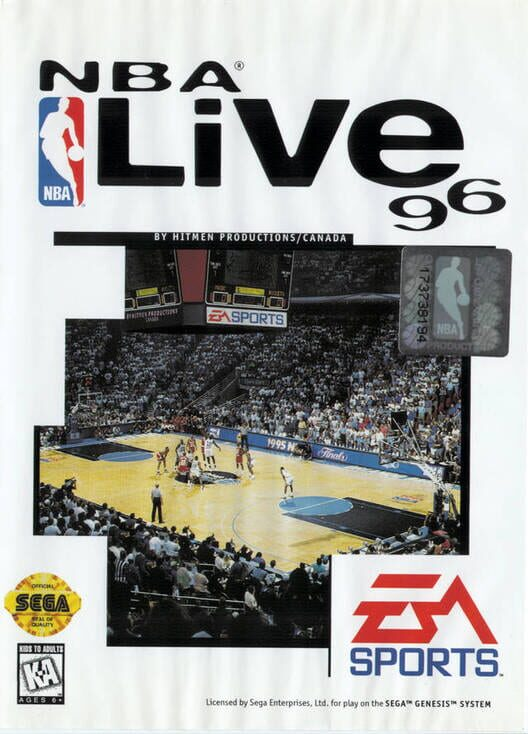 NBA Live 96 Display Picture