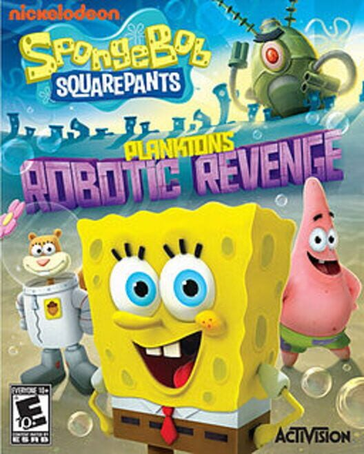 Spongebob Squarepants: Plankton's Robotic Revenge Display Picture