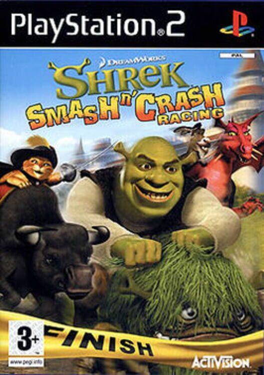 Shrek Smash n' Crash Racing Display Picture