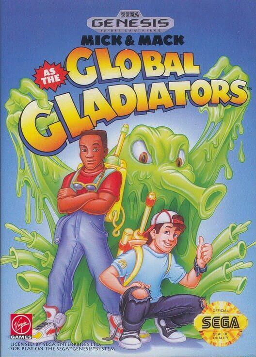 Mick & Mack as the Global Gladiators Display Picture