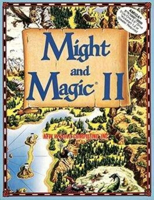 Might and Magic II: Gates to Another World Display Picture